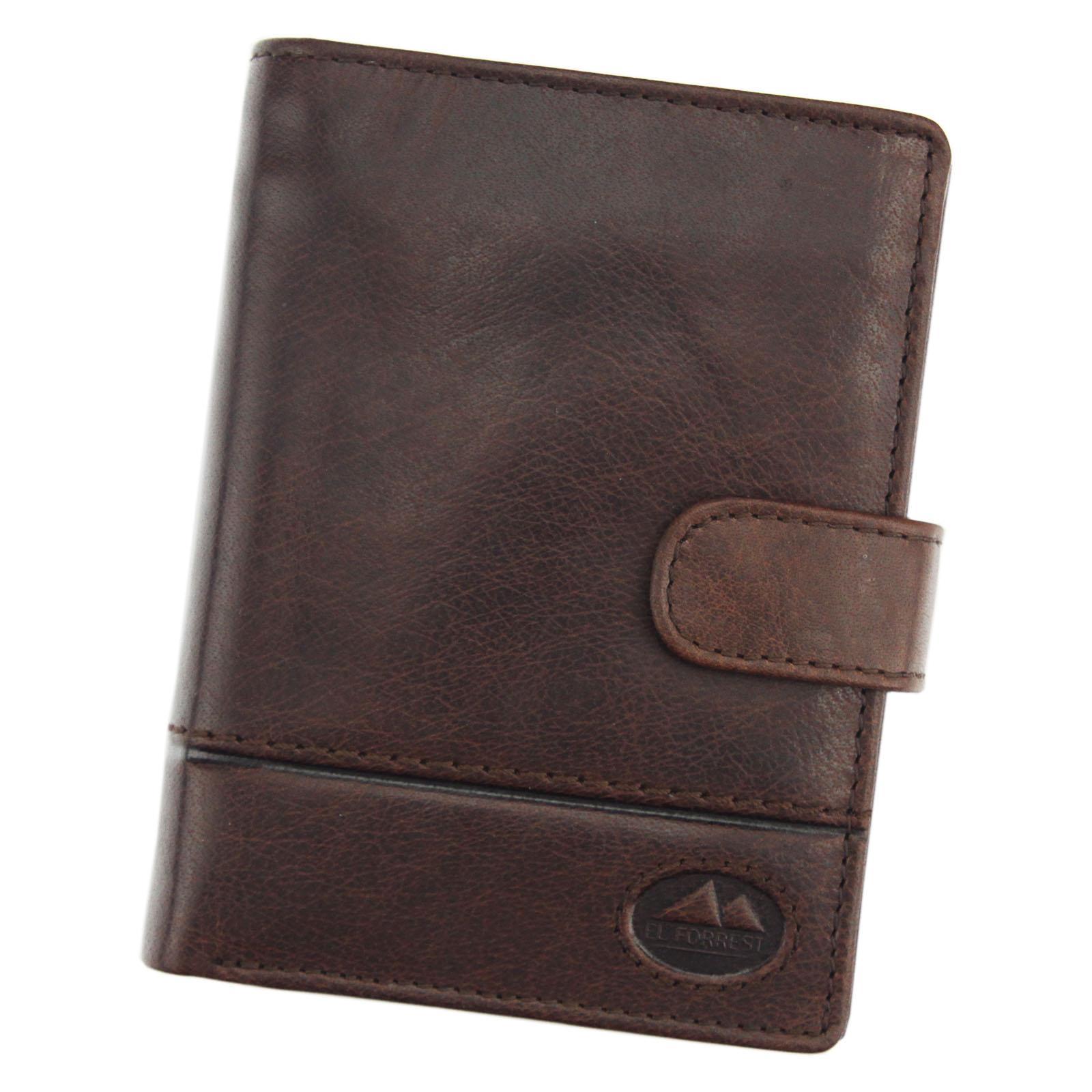Kožená pánska peňaženka EL FORREST 988-22 RFID