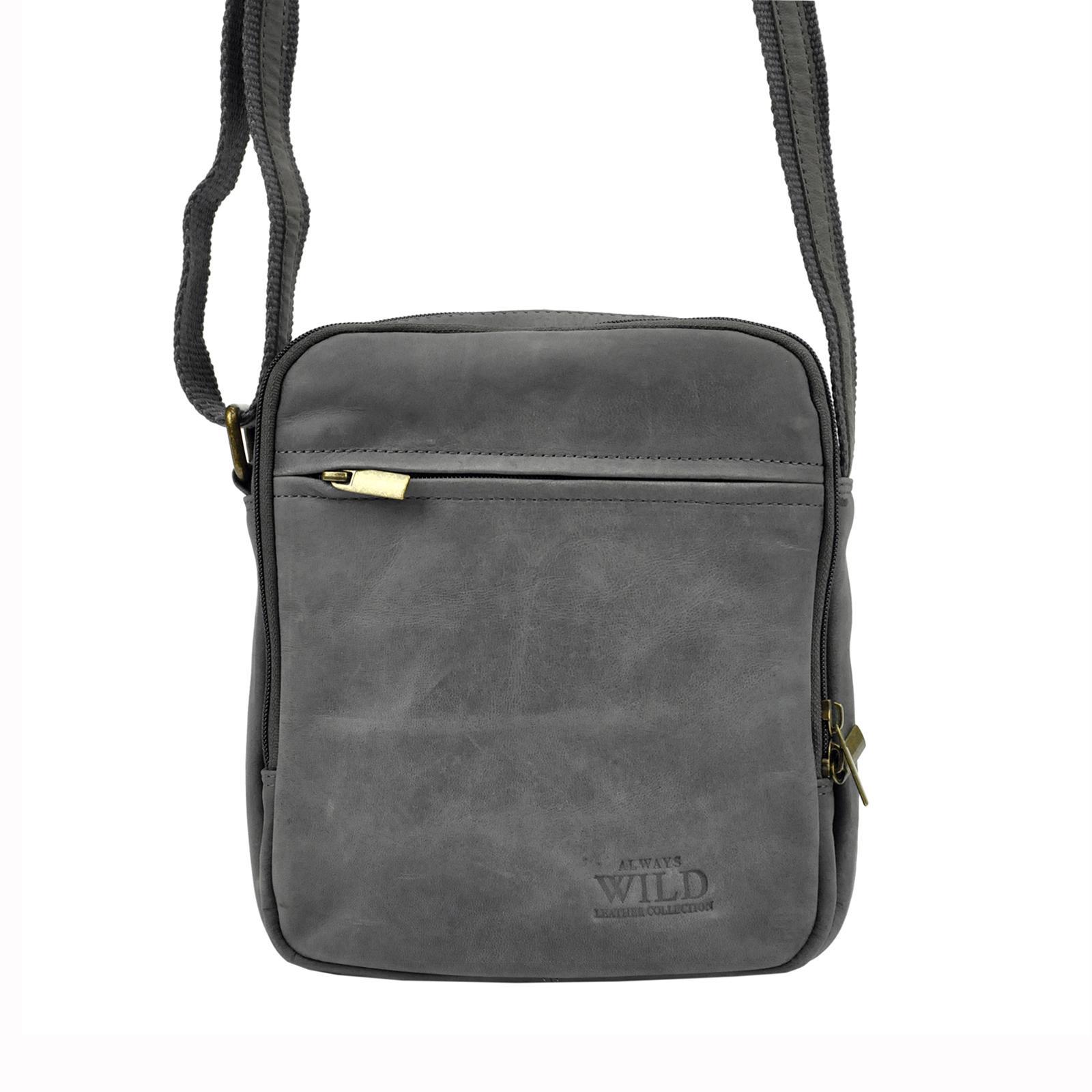 Kožená taška na rameno Always Wild 8021-TGH