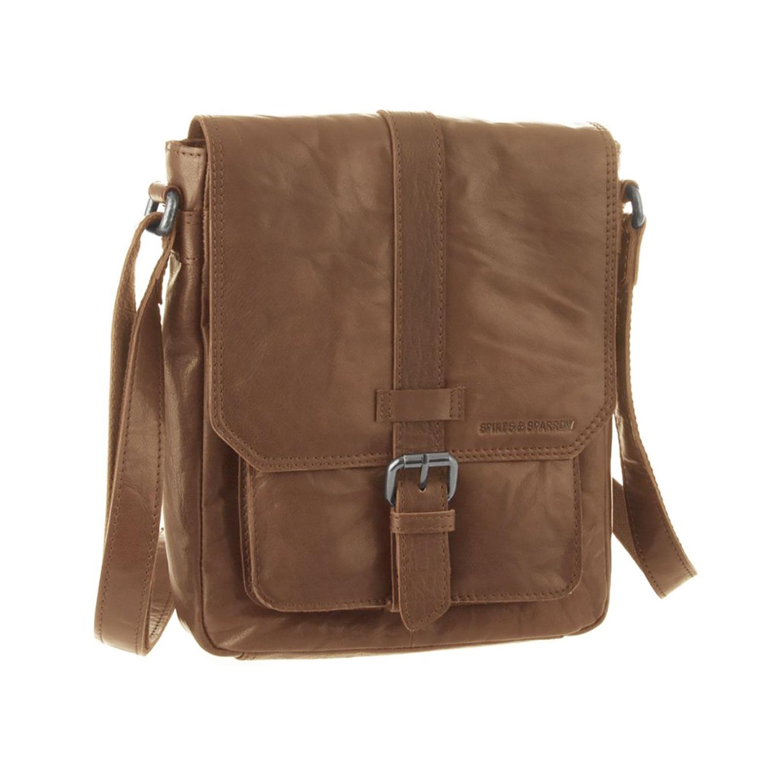 Kožená taška na rameno Spikes and Sparrow 23110