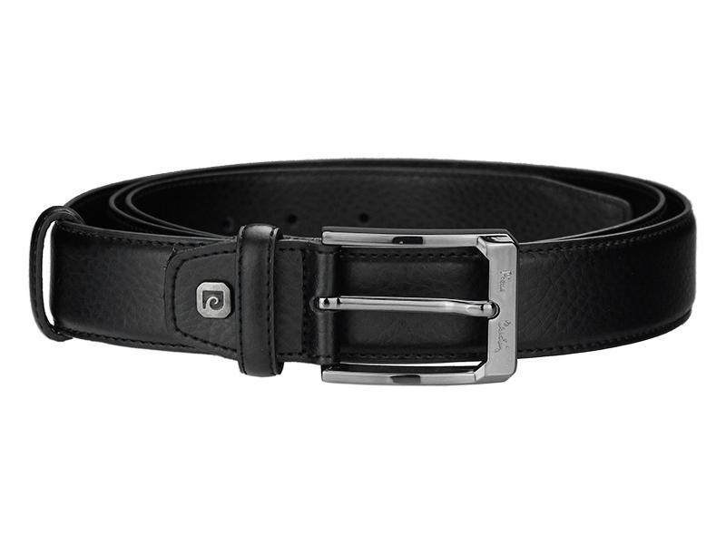Kožený pánsky opasok Pierre Cardin 5011 ROB01 BLACK