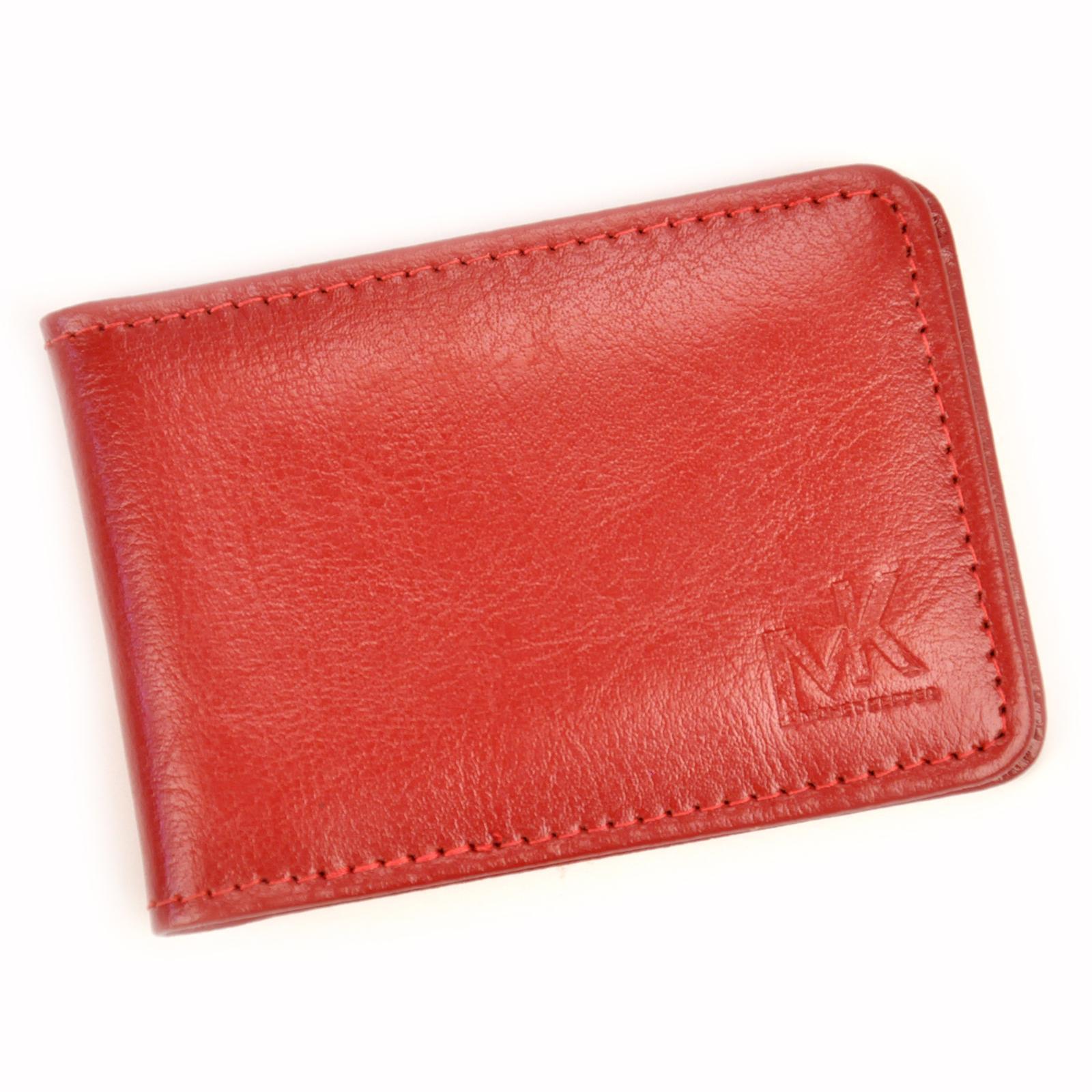 Kožené puzdro na doklady Money Kepper R7004