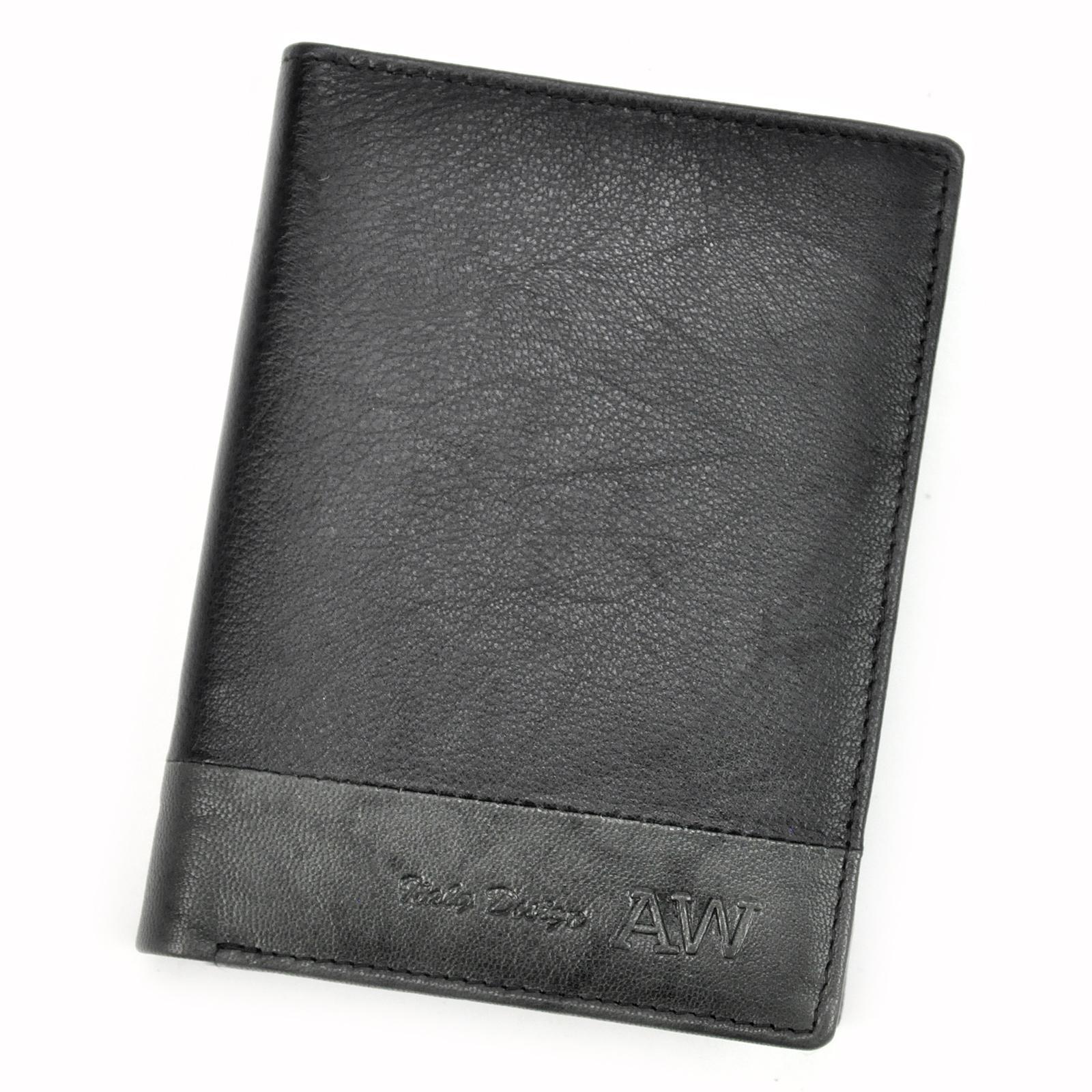 Kožená pánska peňaženka.