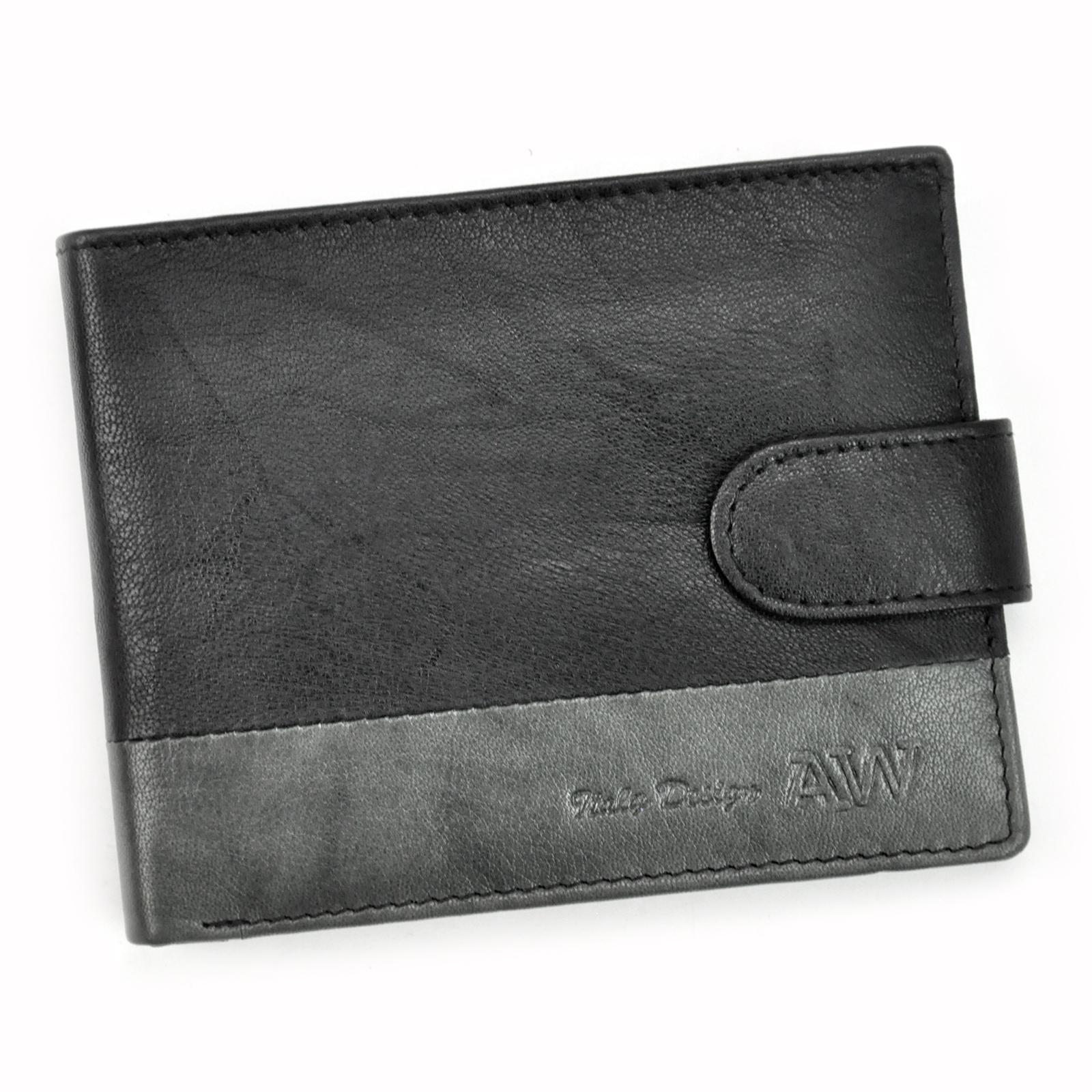 Praktická pánska peňaženka.