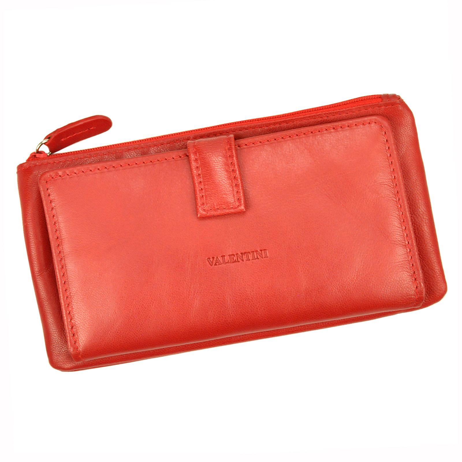 Kožená dámska peňaženka.