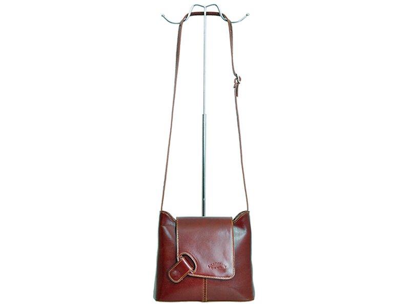 Kožená kabelka L Artigiano 8141