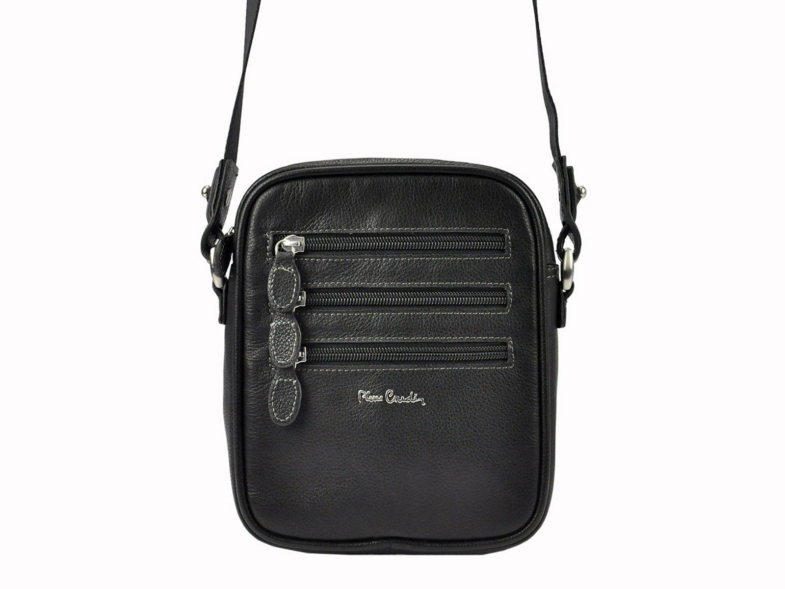 Kožená taška na rameno Pierre Cardin 6161 ALEX02