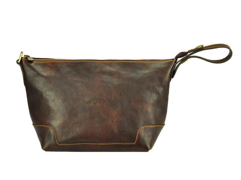 Kožená kozmetická taška Pierre Cardin 4556 DNC