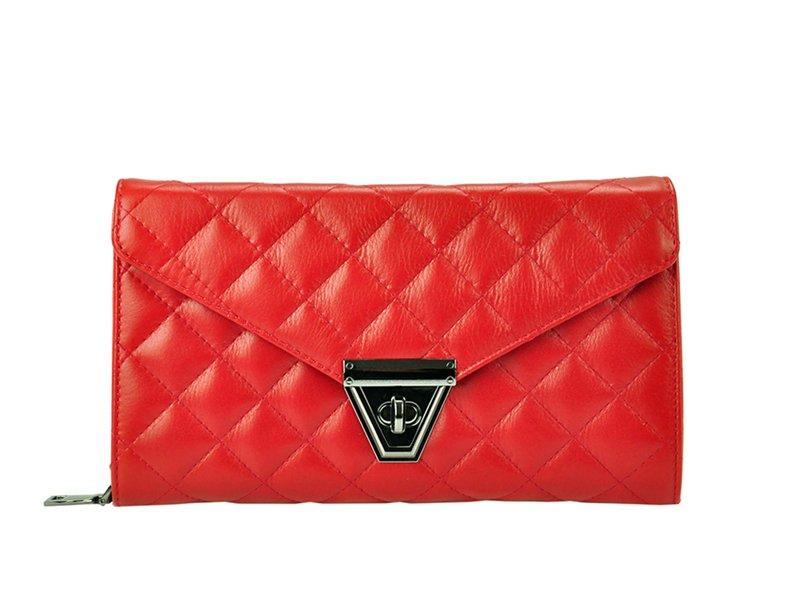 Kožená kabelka do ruky Patrizia Piu 14-001