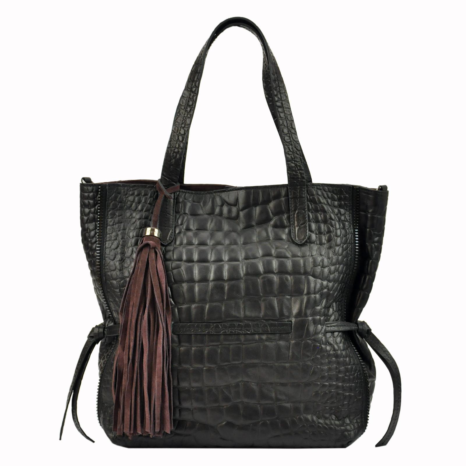 Kožená dámska kabelka Innue E391