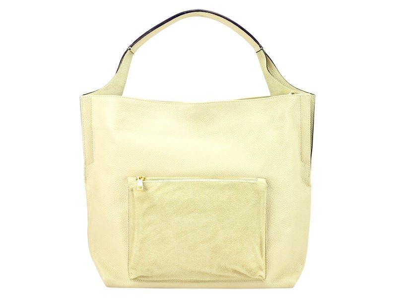 Dámska kožená kabelka Patrizia Piu 318-019