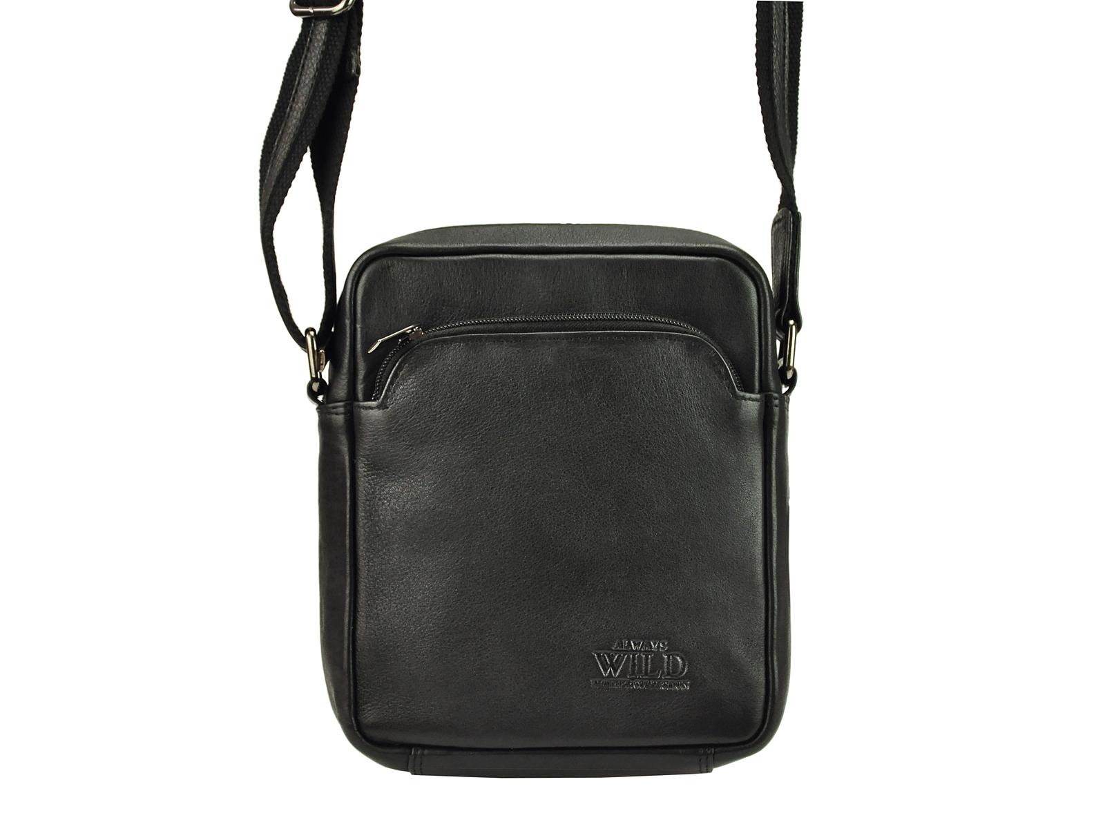 Kožená taška na rameno Wild 5742-NDM