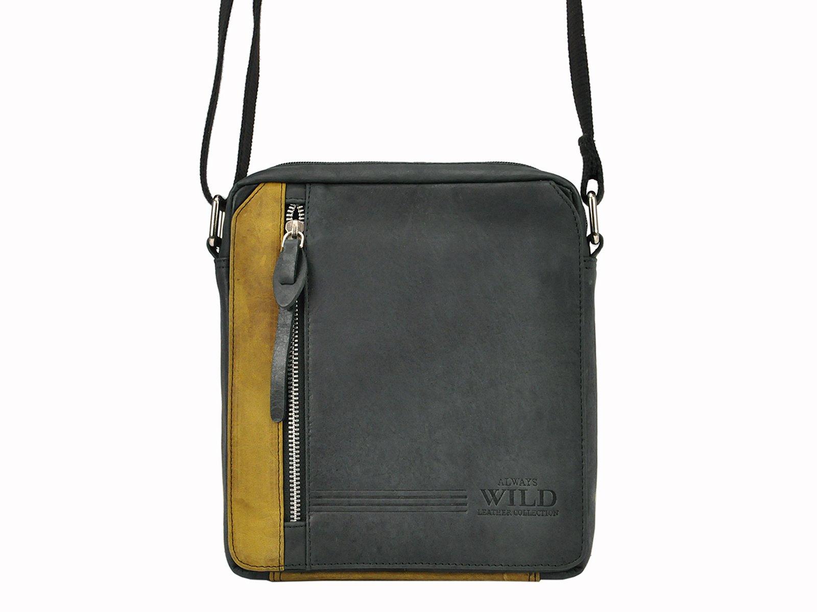 Trendy kožená taška na rameno Always Wild BAG-2-HB