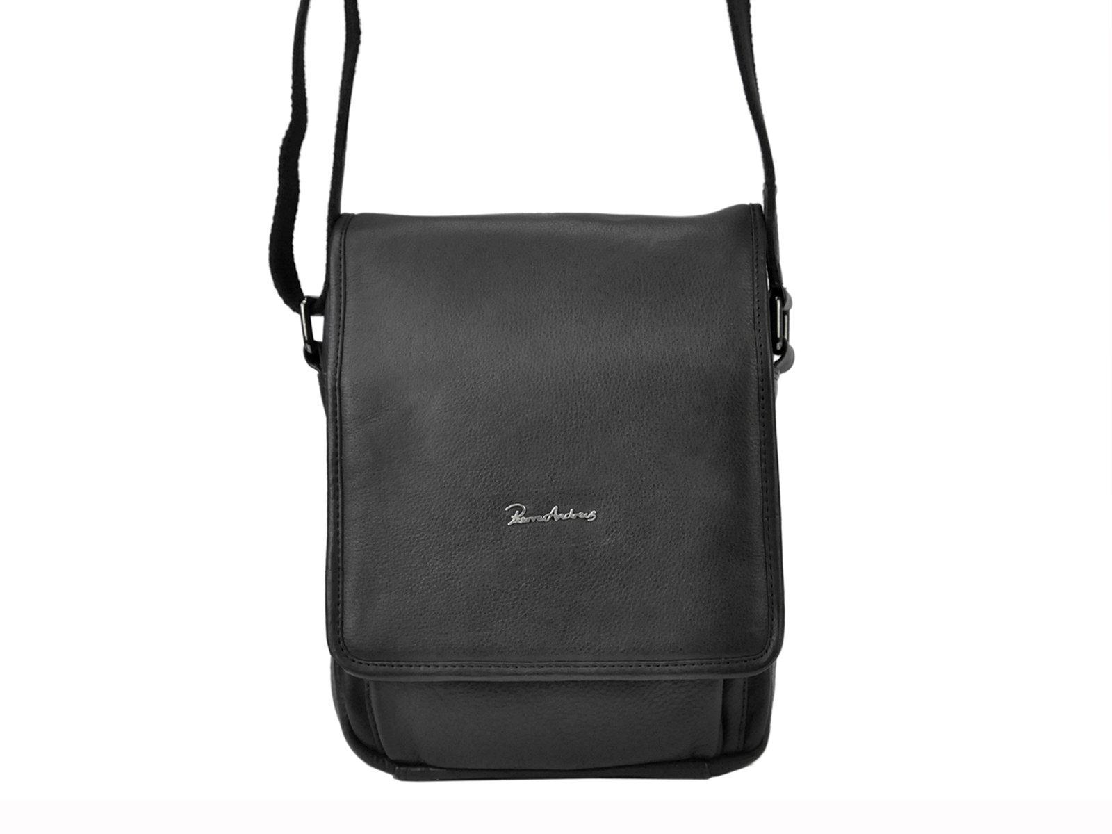 Pánska kožená taška na rameno Pierre Andreus 015-NDM-PA