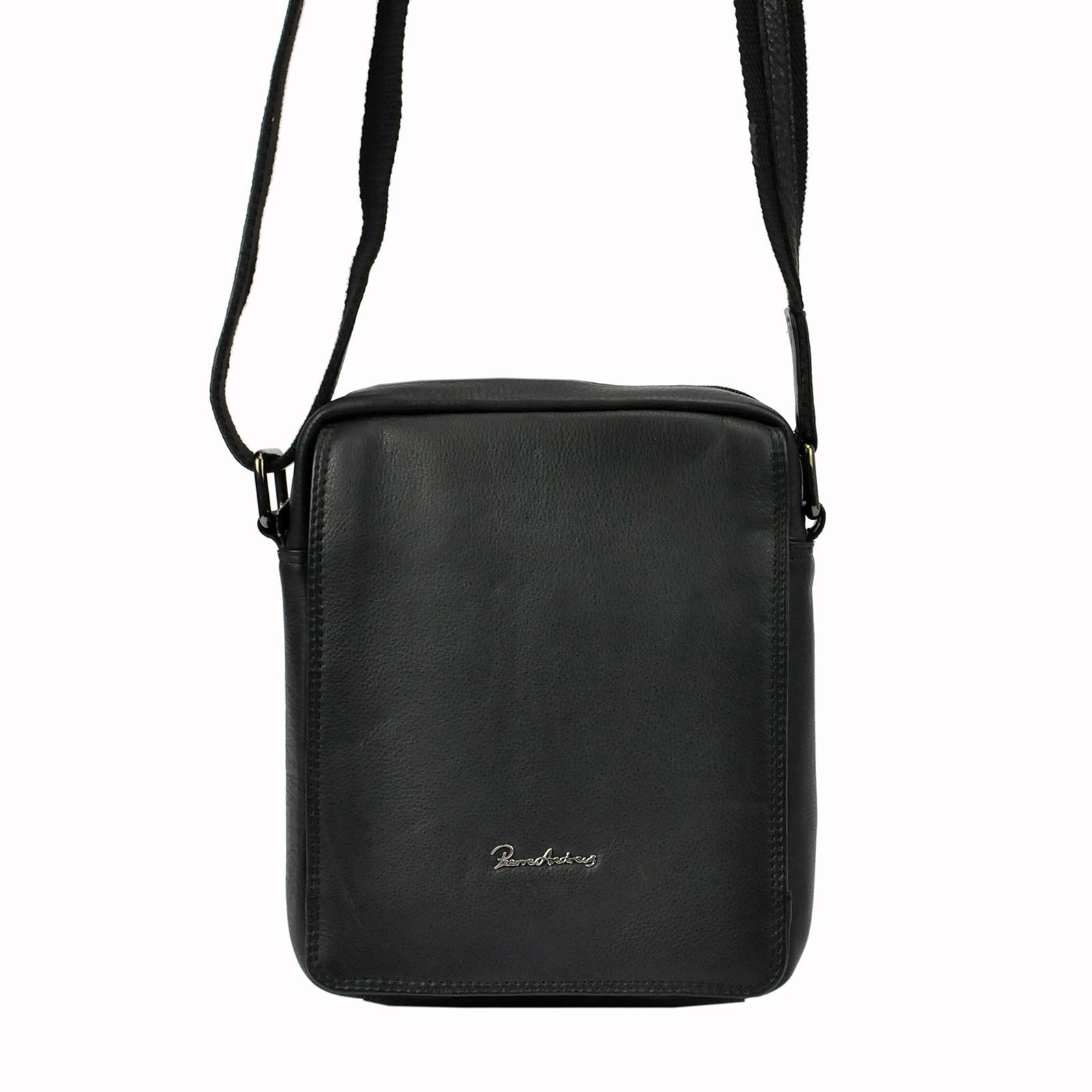Pánska kožená taška na rameno Pierre Andreus 771-NDM-PA