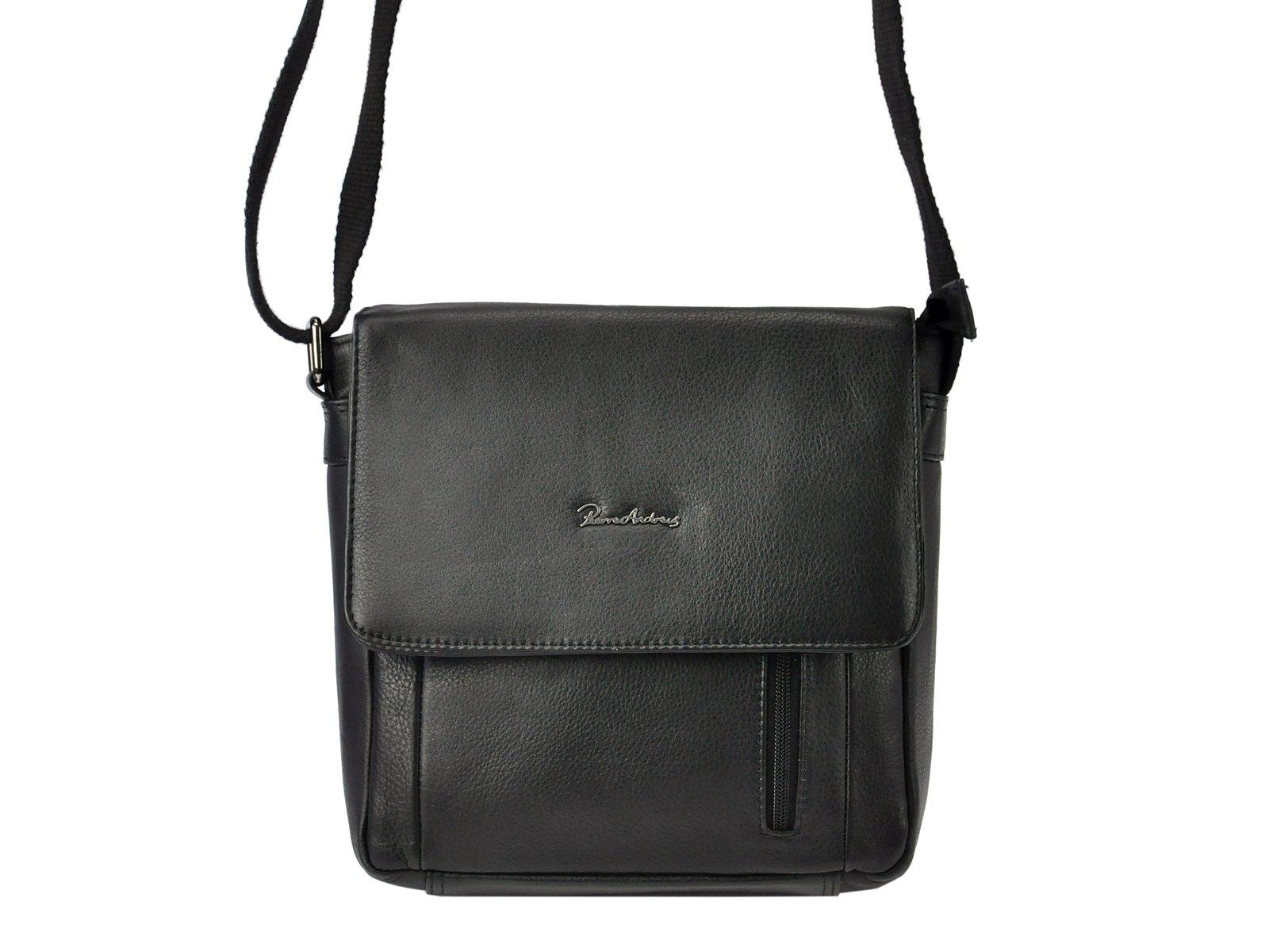 Štýlová pánska kožená taška na rameno Pierre Andreus 787-NDM-PA