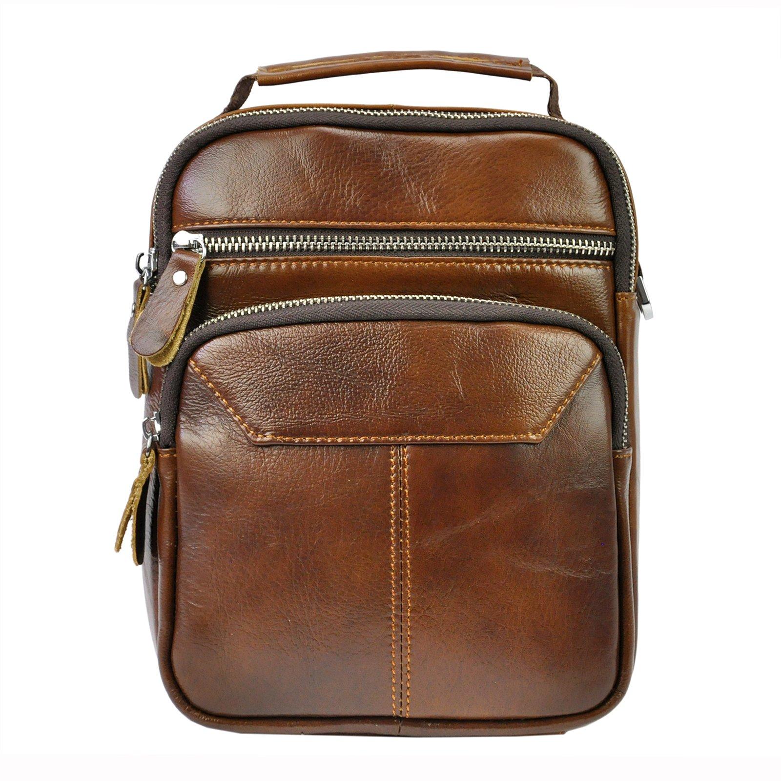 Kožená taška na rameno Giorgio BSV 1137
