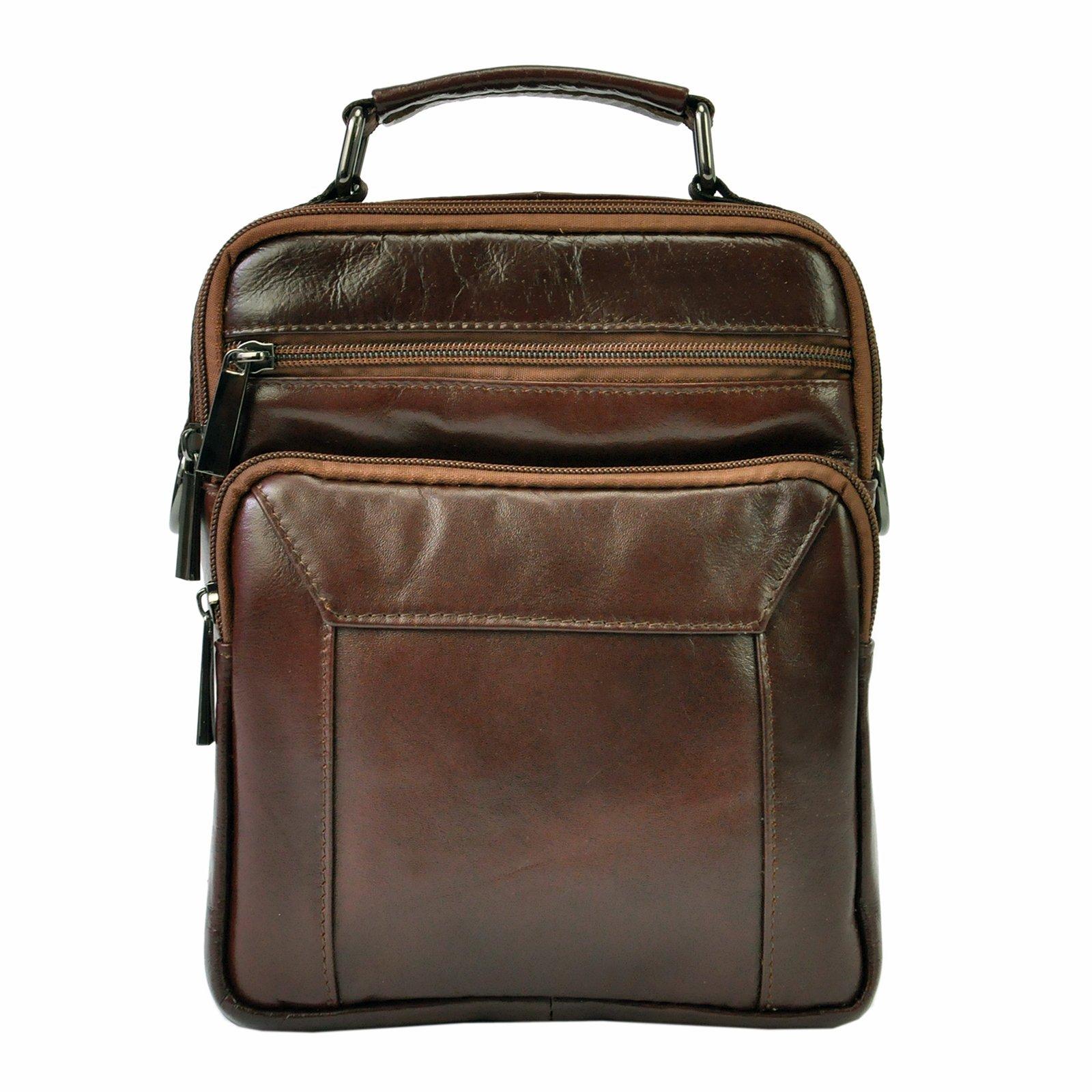 Kožená taška na rameno Giorgio BVV 90118