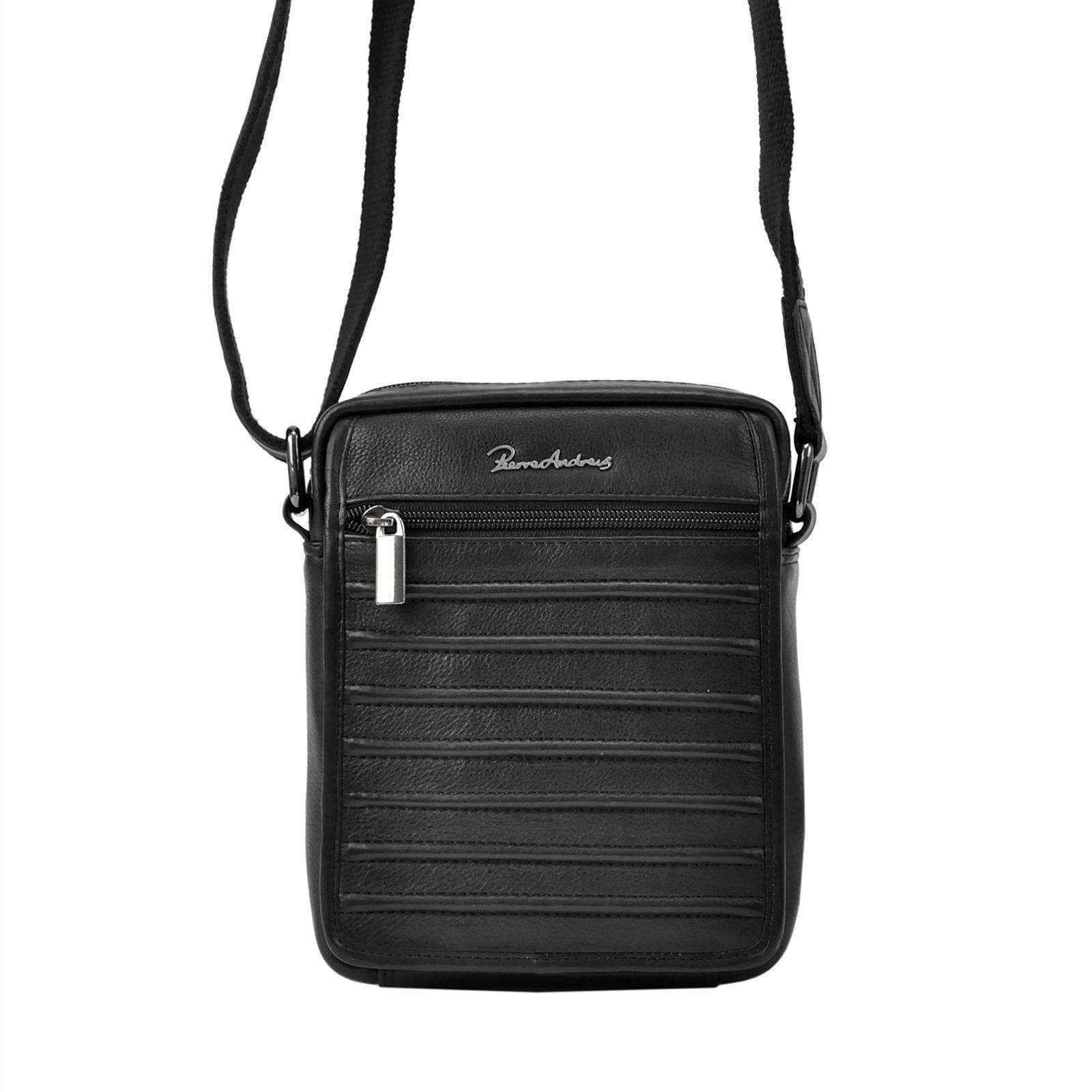 Praktická kožená taška na rameno Pierre Andreus 1114-NDM-PA