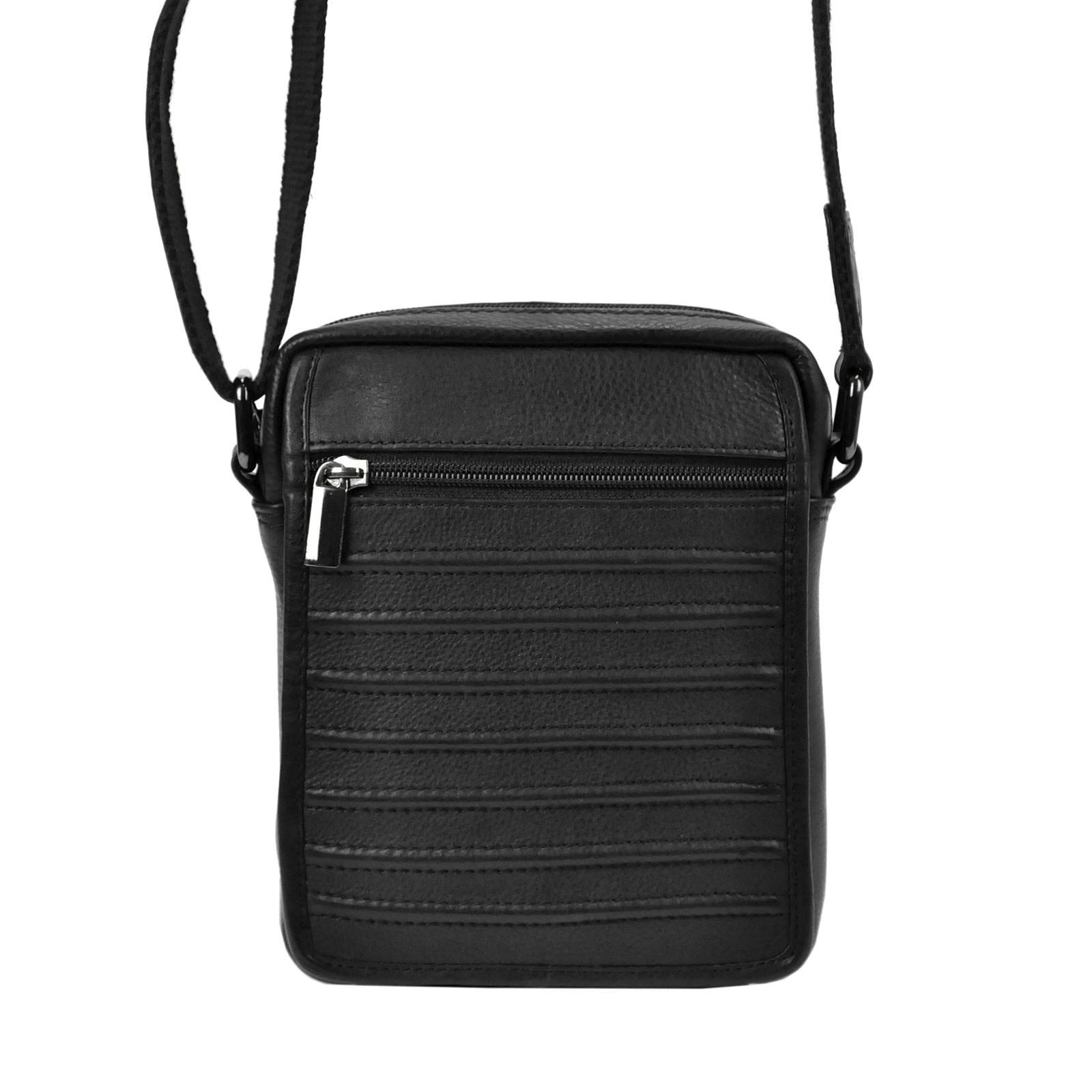 Kožená taška na rameno Cavaldi 1114-NDM